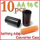 10 pcs battery Adaptor Converter Case  AA to C R1