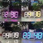 3D LED Table Clock Number Design Show Temperature Date Living Room Clock SM