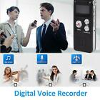 8GB Digital Audio Voice Recorder Rechargeable Dictaphone USB Drive MP3 Player