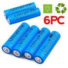 6pcs 3000mAh 3.7V Li-ion UltraFire Super Rechargeable Battery 18650 NEW