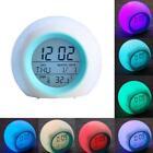 NIGHT LIGHT ALARM CLOCK color Changing LED Wake Up Light Natural Sounds