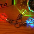 Individuality LED Colorful Flash Lights Mini Bulb Torch Key Chain Keyring Gift