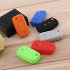 Silicone Car Auto Remote Key Cover Case For Volkswagen VW Series UN