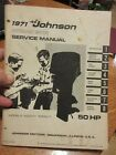 1971 50 HP Johnson outboard service manual