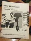 1971 4 HP Johnson outboard service manual