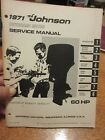 1971 60 HP Johnson outboard service manual
