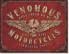 Venomous Motorcycles   Dont tread On Me Usa Sturgis Bike Skull 911 Snake Oil