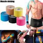 5M Sports Elastic Kinesiology Tape Roll Physio Muscle Strain Injury Care Bandage