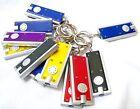 Joinwin Mini LED Flashlight Key Chain Thin LED Flashlight on Keychain- DOZENC...