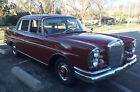 1962 Mercedes-Benz 200-Series Chrome Classic 1962 Mercedes Benz 220s