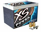XS Power D1600 16V 2,000 Amp AGM Starting Battery+FREE 586 Top-Post Terminals