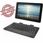 10.1 Inch Android 2-in-1 Tablet Detachable Keyboard WiFi Bluetooth Dual Camera