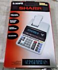 Sharp EL2630PIII  Two-Color Printing Calculator, Black / red Print, 4.8 Lines
