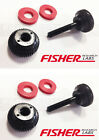 2 Fisher Labs Teknetics Metal Detector Search Coil HARDWARE PARTS KIT 9872900