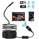 Wireless Endoscope for Car, METALBAY WiFi Borescope Inspection Camera with LED L