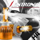 PHILIS COB H4 C6 7600LM 72W LED Headlight Kit Hi/Lo Turbo Light Bulbs 6000K Car
