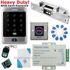 US Waterproof RFID Card+Password Door Access Control System+Electric Strike Lock