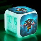 Kid Digital GLOW LED Alarm Clock with Music Color Nightlight for Bedroom Girl