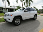 2016 Jeep Grand Cherokee Limited Loaded With Factory Bumper-To-Bumper Warranty, only 22.588 Miles