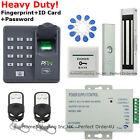 New Biometric Fingerprint+RFID+Password Door Access Control System+Magnetic Lock