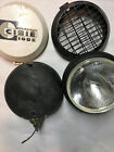 4 Vintage Cibie Super Oscar Lights With Covers