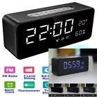 Orionstar Aid Sleep Wireless Alarm Clock Radio Bluetooth Stereo Speaker HD Sound