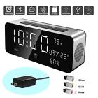 Orionstar Wireless Bluetooth Alarm Clock Radio Speaker with HD Sound&Big Digital