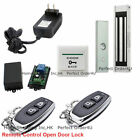 Door Access Control System With Electric Magnetic Lock Wireless Receiver& Remote