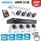 ANNKE 8CH 3MP DVR 2MP Security Camera System H.264+ SMART Search Cloud storage