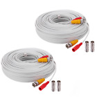 WildHD 2x150ft All-in-One Siamese BNC Video and Power Security Camera Cable BNC