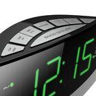 Hannlomax HX-100 Dual Alarm Clock, AM/FM Radio, Aux-in, Sleep Snooze Function