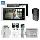 """HOMSECUR 7"""" Wired Video Door Entry Security Intercom with One Button Unlock 1C2M"""
