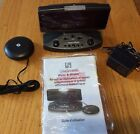 iLuv Shake and Wake Alarm Clock Speaker for iPhone iPod + AUX - Black iMM153BLK