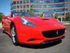 California 2dr Conv 2010 Ferrari California 2dr Conv 17361 Miles Red Convertible 4.3L 453.0hp A
