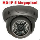5MP 2592P Network PoE 48IR Weatherproof  IP Camera Vandal Proof Dome System 2!0n