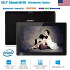 "CHUWI Hi10 10.1"" Tablet Win10+Android5.1 Ultrabook Quad Core WiFi HDMI BT 4/64GB"