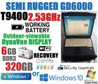 BEATS I5! ITRONIX GD6000 MILSTD SEMI-RUGGED NOTEBOOK T9400 2.53GHz 6GB 320GB
