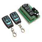 12V 4CH Channel 433Mhz Wireless Remote Control Switch With 2 Transmitter Receive