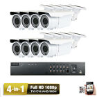 8Ch AHD HDMI DVR Sony Cmos CCD^ 2.6MP 4-in-1 Bullet 1080P Security Camera System