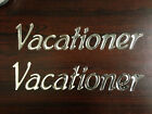 Vacationer  Decals (2) RV Holiday Rambler  NEW