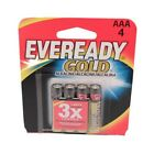 Energizer Eveready Gold AAA Batteries Per 4 A92BP-4