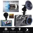 Dual Lens Car DVR HD 1080P Dash Cam Video Recorder Camera Night Vision G-sensor