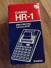 Casio HR-1 Mini Printng Calculator - NIP