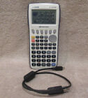 Casio fx-9750GII Graphing Calculator & Data Cable -NO TOP COVER -TESTED WORKING