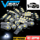 12X Bright White LED Bulbs Light Interior Package Kit for 2004-2012 Ford F-150