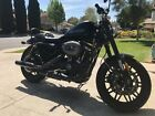 2016 Harley-Davidson Sportster  2016 Harley Davidson Roadster Matte Black with Pipes and Extras
