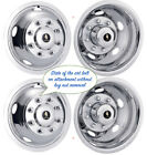 "19.5"" FORD F53 8 LUG 1999-02 WHEEL SIMULATOR RIM LINER HUBCAP COVERS SET OF 4 ©"