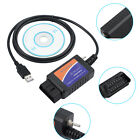USB Modified ELM327 Scanner Diagnostic Tool HS CAN MS CAN FOR Forscan Ford US