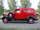 1938 Dodge Model RC 1/2 Ton Commercial Sedan 38 Dodge Brothers Commercial Sedan Delivery ½ Ton Ram Panel Truck Restored Stock