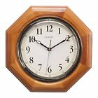 Pre-owned Chaney 46101A1 12 inch Octagon Wood Clock